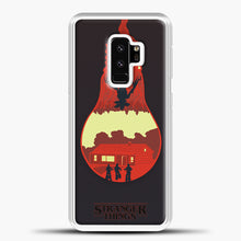 Load image into Gallery viewer, Stranger Things Lamp Red Samsung Galaxy S9 Plus Case, White Plastic Case | casedilegna.com
