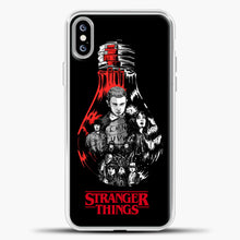 Load image into Gallery viewer, Stranger Things Lamp iPhone XS Max Case, White Plastic Case | casedilegna.com