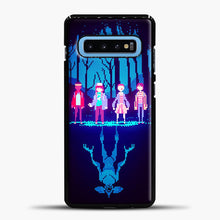 Load image into Gallery viewer, Stranger Things Pixel Samsung Galaxy S10 Case, Black Plastic Case | casedilegna.com