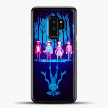 Load image into Gallery viewer, Stranger Things Pixel Samsung Galaxy S9 Case, Black Plastic Case | casedilegna.com