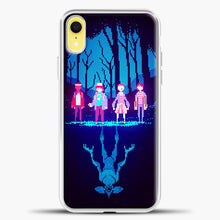 Load image into Gallery viewer, Stranger Things Pixel iPhone XR Case, White Plastic Case | casedilegna.com