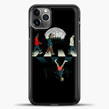Load image into Gallery viewer, Stranger Things Road Black iPhone 11 Pro Max Case, Black Plastic Case | casedilegna.com