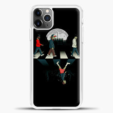 Load image into Gallery viewer, Stranger Things Road Black iPhone 11 Pro Max Case, White Plastic Case | casedilegna.com