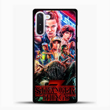 Load image into Gallery viewer, Stranger Things Starcourt Samsung Galaxy Note 10 Case, Black Plastic Case | casedilegna.com