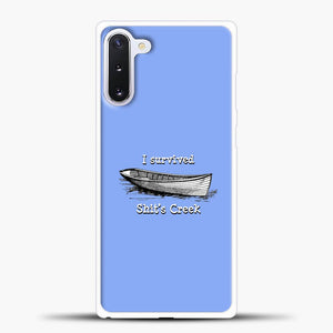 Schitts Creek Blue Background Samsung Galaxy Note 10 Case