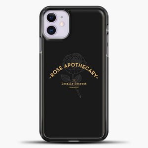 Schitts Creek Dark Rose Apothecary iPhone 11 Case
