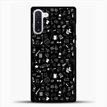 Load image into Gallery viewer, Schitts Creek Pattern Black Samsung Galaxy Note 10 Case