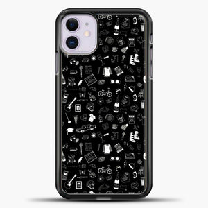 Schitts Creek Pattern Black iPhone 11 Case