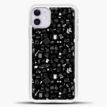 Load image into Gallery viewer, Schitts Creek Pattern Black iPhone 11 Case