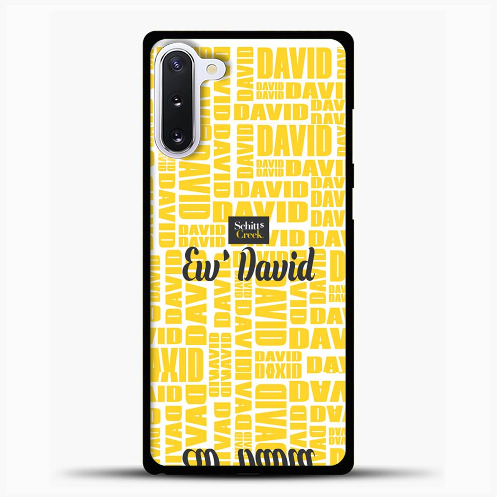 Schitts Creek Yellow Quote Samsung Galaxy Note 10 Case