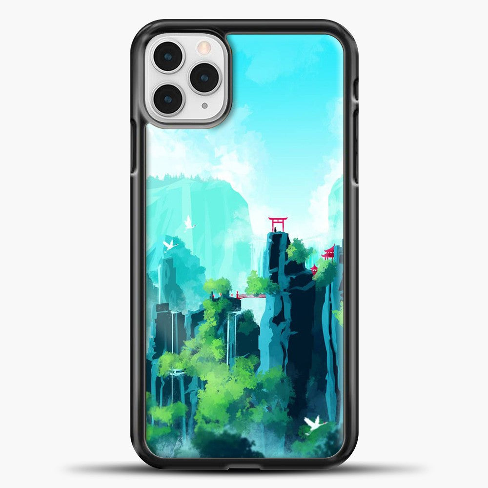 SeerLight iPhone 11 Pro Case, Black Plastic Case | casedilegna.com