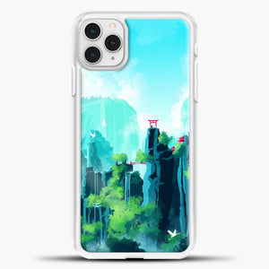 SeerLight iPhone 11 Pro Case, White Plastic Case | casedilegna.com