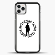 Load image into Gallery viewer, Sosial Distancing Social Club iPhone 11 Pro Case, Black Plastic Case | casedilegna.com