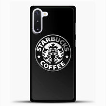 Load image into Gallery viewer, Starbucks Coffee Logo Samsung Galaxy Note 10 Case, Black Plastic Case | casedilegna.com