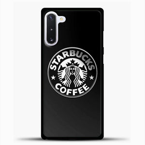 Starbucks Coffee Logo Samsung Galaxy Note 10 Case, Black Plastic Case | casedilegna.com