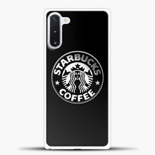 Load image into Gallery viewer, Starbucks Coffee Logo Samsung Galaxy Note 10 Case, White Plastic Case | casedilegna.com