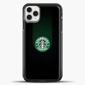 Starbucks Logo Black iPhone 11 Pro Case, Black Plastic Case | casedilegna.com