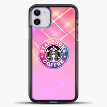 Load image into Gallery viewer, Starbucks Unicorn Rose Gold iPhone 11 Case, Black Plastic Case | casedilegna.com