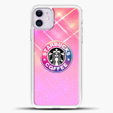 Load image into Gallery viewer, Starbucks Unicorn Rose Gold iPhone 11 Case, White Plastic Case | casedilegna.com
