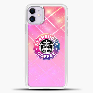 Starbucks Unicorn Rose Gold iPhone 11 Case, White Plastic Case | casedilegna.com