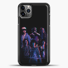 Load image into Gallery viewer, Stranger Things Black Wallpaper iPhone 11 Pro Max Case, Black Plastic Case | casedilegna.com