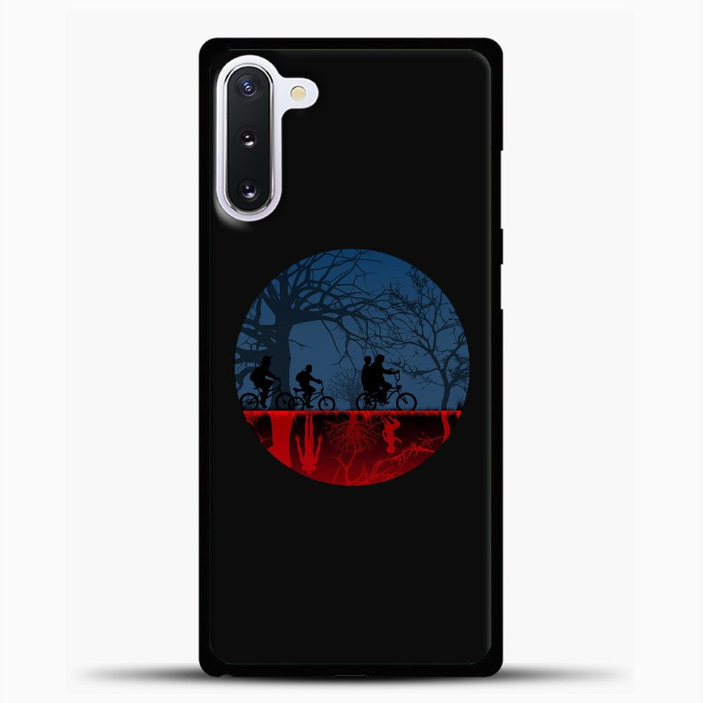 Stranger Things Digital Art Samsung Galaxy Note 10 Case, Black Plastic Case | casedilegna.com
