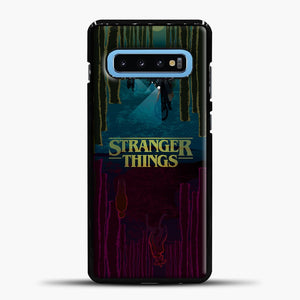 Stranger Things Evening Road Samsung Galaxy S10 Case, Black Plastic Case | casedilegna.com