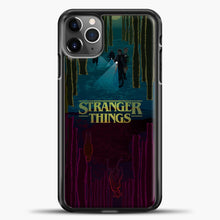 Load image into Gallery viewer, Stranger Things Evening Road iPhone 11 Pro Max Case, Black Plastic Case | casedilegna.com