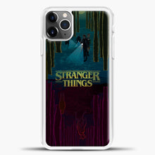 Load image into Gallery viewer, Stranger Things Evening Road iPhone 11 Pro Max Case, White Plastic Case | casedilegna.com