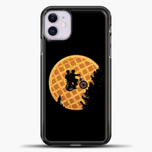 Load image into Gallery viewer, Stranger Things Qu iPhone 11 Case, Black Plastic Case | casedilegna.com