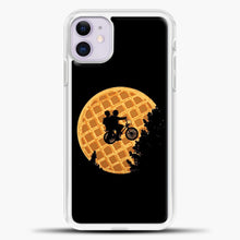 Load image into Gallery viewer, Stranger Things Qu iPhone 11 Case, White Plastic Case | casedilegna.com
