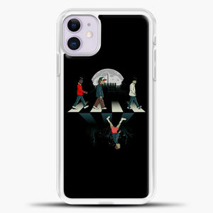 Stranger Things Static Assets iPhone 11 Case, White Plastic Case | casedilegna.com