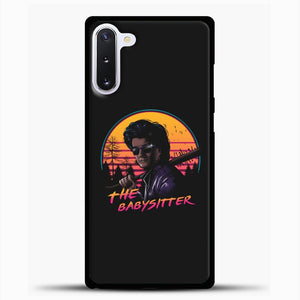 Stranger Things The Babysitter Samsung Galaxy Note 10 Case, Black Plastic Case | casedilegna.com