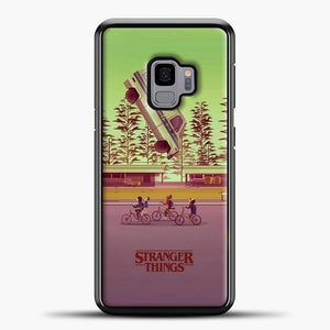 Stranger Things The Car Crashed Samsung Galaxy S9 Case, Black Plastic Case | casedilegna.com