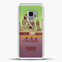 Load image into Gallery viewer, Stranger Things The Car Crashed Samsung Galaxy S9 Case, White Plastic Case | casedilegna.com