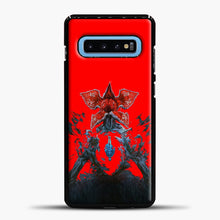 Load image into Gallery viewer, Stranger Things Under Interest Samsung Galaxy S10 Case, Black Plastic Case | casedilegna.com