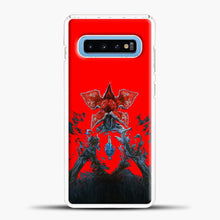 Load image into Gallery viewer, Stranger Things Under Interest Samsung Galaxy S10 Case, White Plastic Case | casedilegna.com
