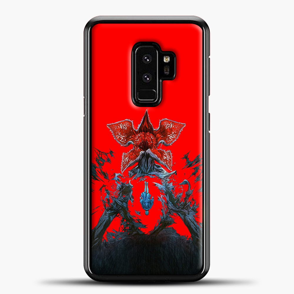 Stranger Things Under Interest Samsung Galaxy S9 Plus Case, Black Plastic Case | casedilegna.com