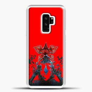 Stranger Things Under Interest Samsung Galaxy S9 Plus Case, White Plastic Case | casedilegna.com