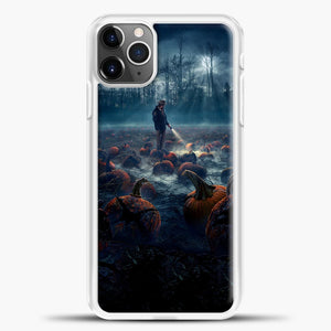 Stranger Things White Smoke Some Pumpkin iPhone 11 Pro Max Case, White Plastic Case | casedilegna.com