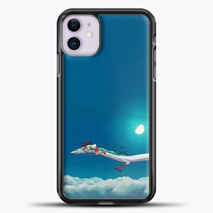 Studio Ghibli Dragon iPhone 11 Case, Black Plastic Case | casedilegna.com