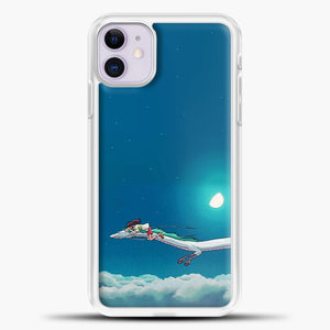 Studio Ghibli Dragon iPhone 11 Case, White Plastic Case | casedilegna.com