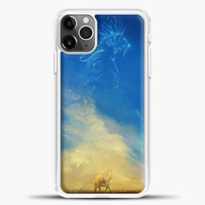 Studio Ghibli Evening iPhone 11 Pro Max Case, White Plastic Case | casedilegna.com
