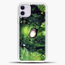 Load image into Gallery viewer, Studio Ghibli The Forest iPhone 11 Case, White Plastic Case | casedilegna.com