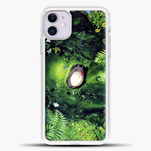 Studio Ghibli The Forest iPhone 11 Case, White Plastic Case | casedilegna.com