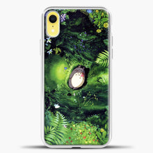 Load image into Gallery viewer, Studio Ghibli The Forest iPhone XR Case, White Plastic Case | casedilegna.com