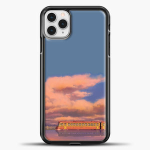 Studio Ghibli The Train iPhone 11 Pro Case, Black Plastic Case | casedilegna.com