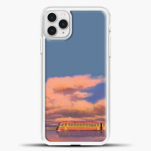 Studio Ghibli The Train iPhone 11 Pro Case, White Plastic Case | casedilegna.com