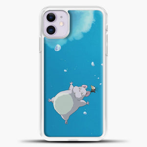 Studio Ghibli To Fly iPhone 11 Case, White Plastic Case | casedilegna.com