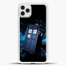 Load image into Gallery viewer, TARDIS Doctor Wallpaper TARDIS Doctor Who iPhone 11 Pro Case, White Plastic Case | casedilegna.com